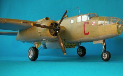 Amerykański bombowiec B- 25 C Mitchell MK II