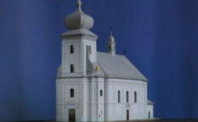"""Kościół  Narodzenia Św. Jana Chrzciciela w Przeciszowie""""."""