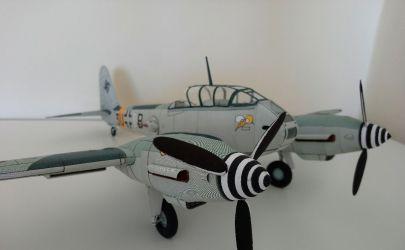 Messerschmitt Me 410 od MM - Powrót do sklejania po latach