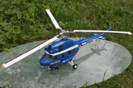 Mi-2 Mały Modelarz 1997 - konwersja POLICJA