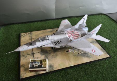 Mikojan i Gurewicz MiG-29A ,,Fulcrum - A'' (23 Baza Lotnictwa Taktycznego PSP - 2018)