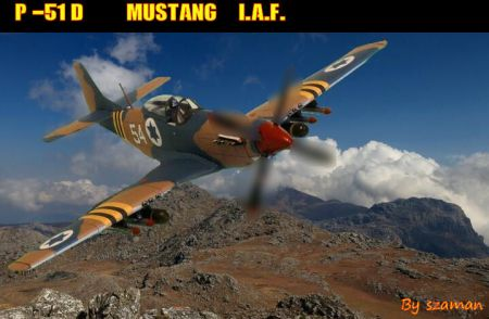 P-51D Mustang I.A.F