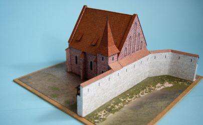 RAVEN6 i Stara Synagoga na krakowskim kazimierzu, skala 1:200, Muzeum Historyczne Miasta Krakowa