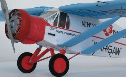 BELLANCA J-300 SPECIAL, samolot długodystansowy z lat 30, braci Adamowicz