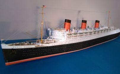 Queen Mary [wyd. JSC, skala 1:400]