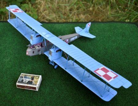 Gotha G.IV (Polskie Lotnictwo Wojskowe. 21 Eskadra Niszczycielska - 1920)