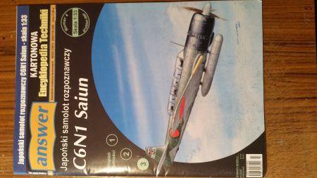 Japonski samolot rozpoznawczy C6N1Saiun