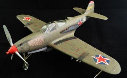 P-39N Airacobra - Kartonowy Arsenał