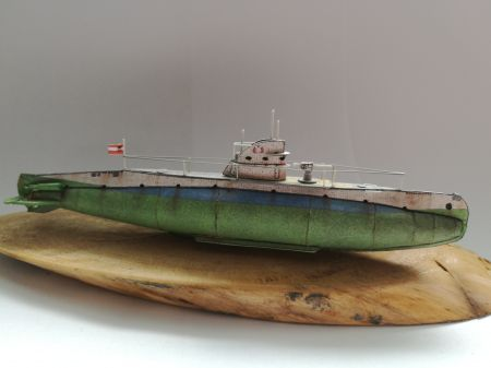 Okręt podwodny s.m U-5 1:200