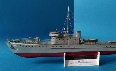 ORP Jaskółka [skala 1:100, Mały Modelarz 3/2000r]