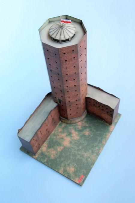 RAVEN6 i myszy, co to Popiela zjadły czyli: Mysia Wieża z Kruszwicy, GPM 3/2012, skala 1:160.