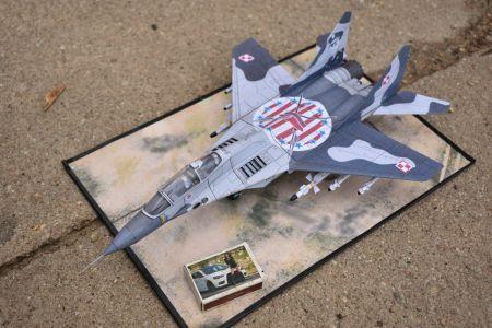 Mikojan i Gurewicz MiG-29UB ,,Fulcrum - B'' (23 Baza Lotnictwa Taktycznego PSP - 2012)