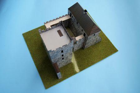 RAVEN6 i skawiński zamek wedle stanu z XIV wieku