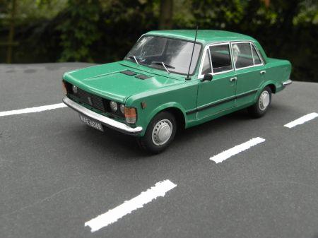 Samochód osobowy Fiat 125p