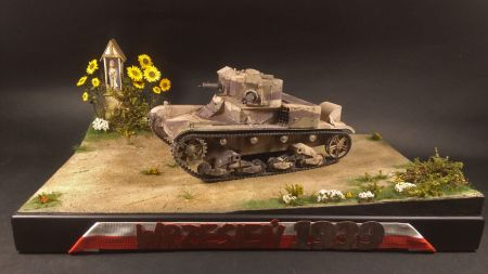 Polski Vickers Mk.E dwuwieżowy