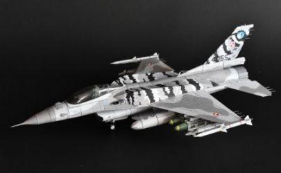 Lockheed Martin F-16C ,,Jastrząb'' (31 Baza Lotnictwa Taktycznego PSP.  NATO ,,Tiger Meet 2014'')