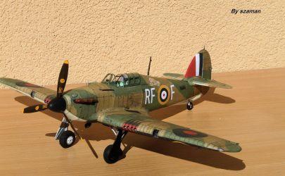 Hurricane MK I. RF- F , numer kodowy V6684,  Dywizjon 303