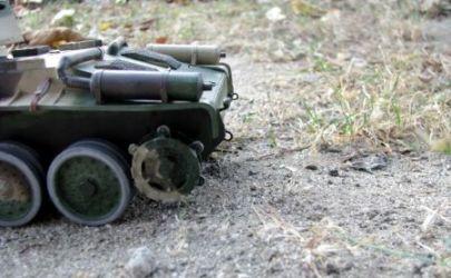 Polski czołg szybki 10TP w wersji kołowej