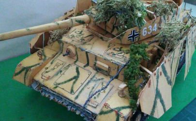 Panzerkampfwagen IV Ausf H GPM nr 106 skala 1:25