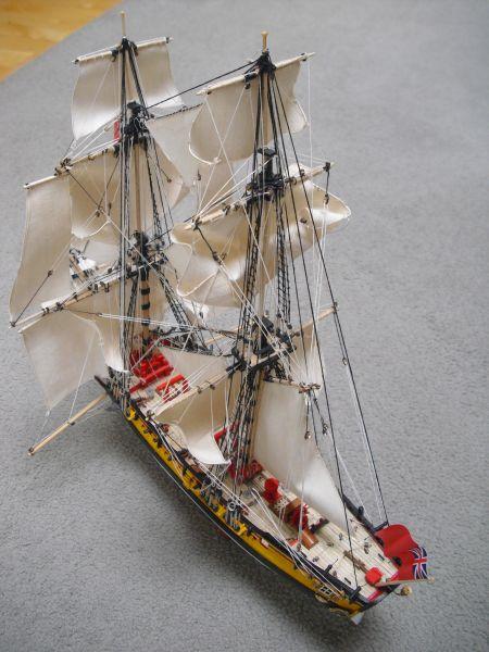 HMS Wolf - Shipyard