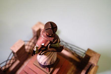 RAVEN6 w Gołębiu czyli figura św. Jana Nepomucena z Wydawnictwa WEKTOR w skali 1:16.