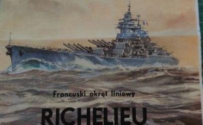 Pancernik Richelieu, MM 1993, skala 1:300