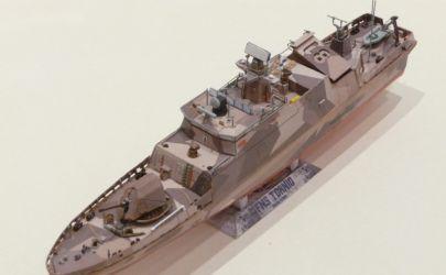 Fiński okręt rakietowy FNS Tornio