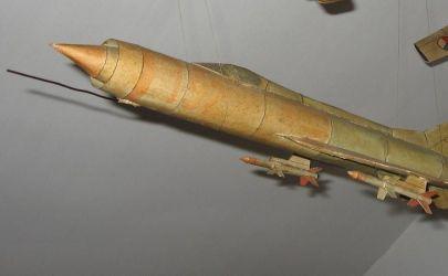 MiG E-152A samolot przechwytujący