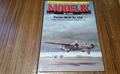 Focke-Wulf  Ta154