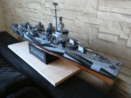 Niszczyciel typu Fletcher - USS Leutze DD-481