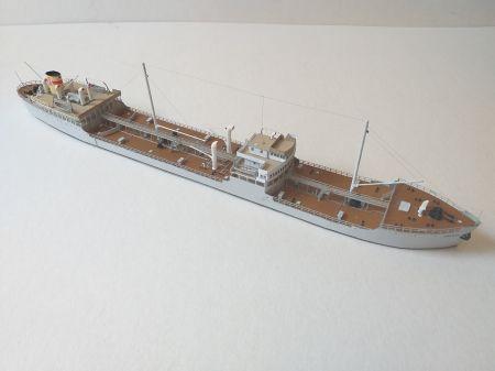 Zbiornikowiec Zawrat, JSC 54, skala 1:400.