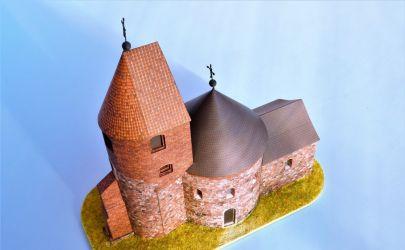 RAVEN6 po romańsku czyli Rotunda św. Prokopa w Strzelnie z Wydawnictwa GPM w skali 1:100.