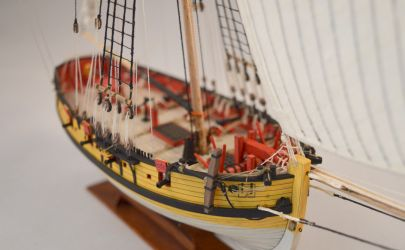 HMS Fly - Modelarstwo Okrętowe 1:100