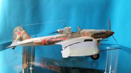 Radziecki samolot szturmowy Ił-2m3