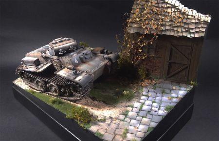 50 twarzy Panzergreya - Pz.Kpfw. I Ausf. F /WAK