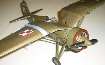 PZL P.11c - Mały Modelarz