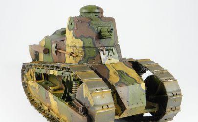 Renault FT - Francja 1917 1:25 /Projekt własny/
