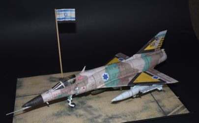 IAI ,,Nesher'' S  (113 Tajeset Chejl Ha'Awir.  Yom Kippur War - 1973)