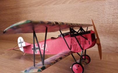 Fokker D.VII Kartonowa kolekcja