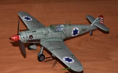 Avia S-199 (101 Tajeset Chejl Ha'Avir. Israeli Independence War - 1949)