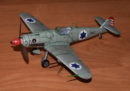 Avia S-199 (101 Tajeset Chejl Ha'Avir. Israeli Independence War - 1948)