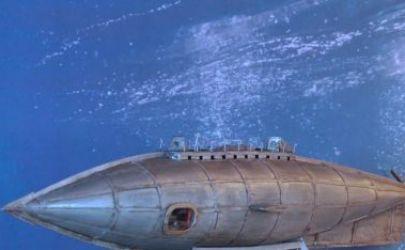 Nautilus - Juliusza Verne'a - projekt własny