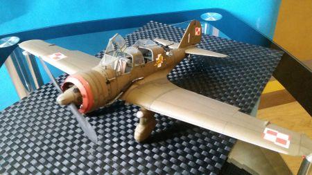 Polski samolot rozpoznawczo bombowy PZL- 23 B