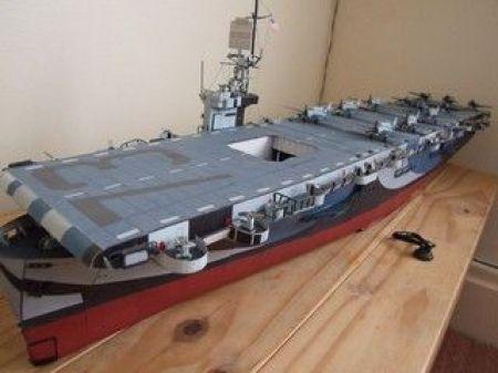 lotniskowiec eskortowy USS GAMBIER BAY