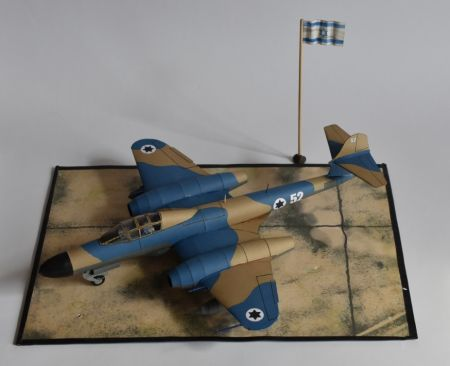 Gloster ,,Meteor'' NF Mk. 13 (119 Tajeset Hejl Ha'Avir. Suez Crisis - 1956)