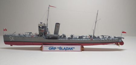 Torpedowiec ORP Ślązak
