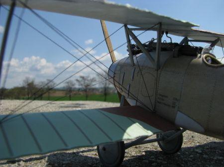 Samolot myśliwski Albatros D.III D750  lt. Fritz Otto Bernert