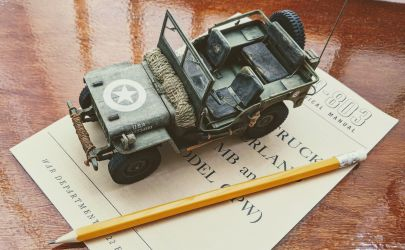 Willys Jeep - Modelik