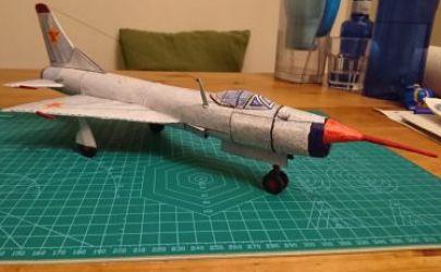 Naddźwiękowy samolot odrzutowy - Su-2