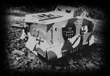 Sturmpanzerwagen- A7V